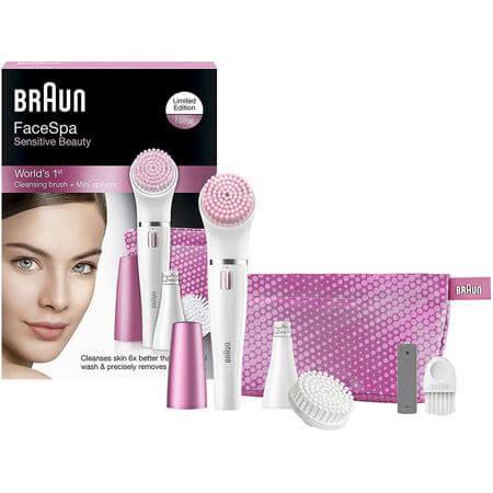 Set epilator Facial Braun Face